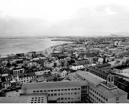 Veduta della baia di Reykjavik