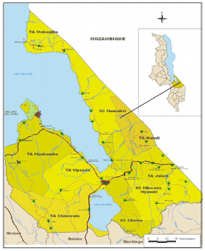 Figure 1 Map - Mangochi